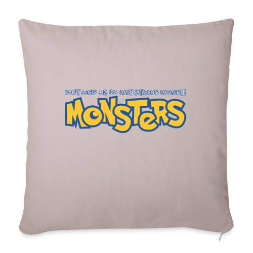 Monsters - Sofa pillow with filling 45cm x 45cm