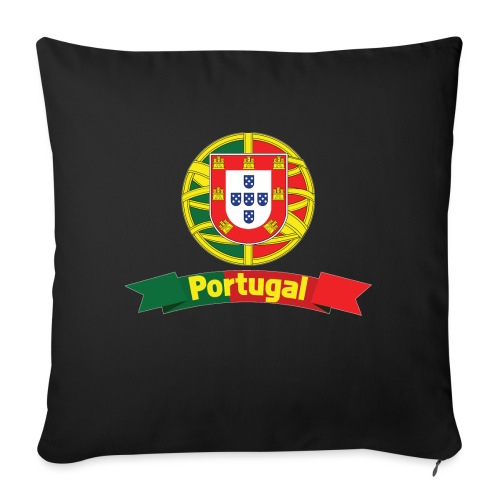 Portugal Campeão Europeu Camisolas de Futebol - Sofa pillow with filling 45cm x 45cm