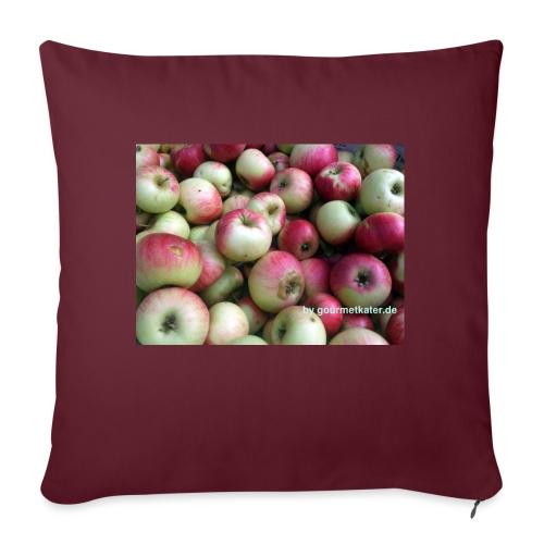 Äpfel - Sofakissen mit Füllung 44 x 44 cm