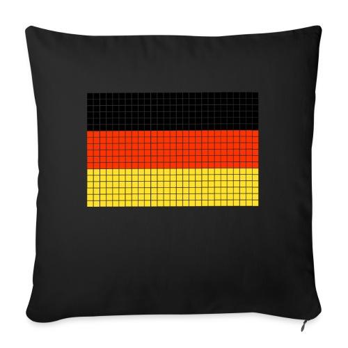 german flag.png - Cuscino da divano 44 x 44 cm con riempimento