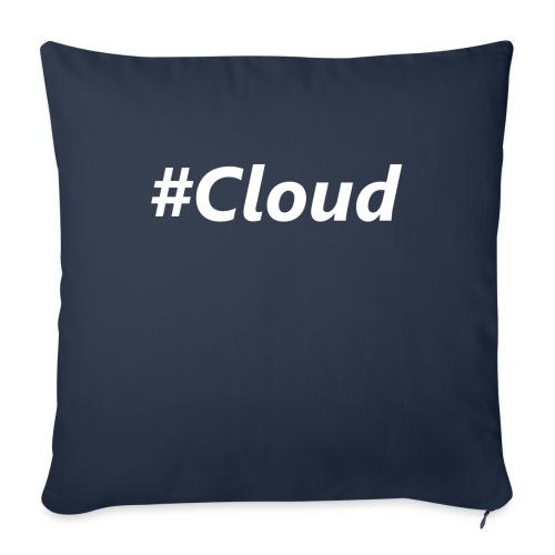#Cloud White - Sofakissen mit Füllung 44 x 44 cm