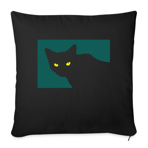 Spy Cat - Sofa pillow with filling 45cm x 45cm