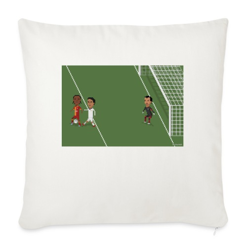 Backheel goal BG - Sofa pillow with filling 45cm x 45cm