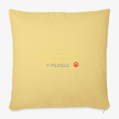 Pyramides - Sofa pillow with filling 45cm x 45cm