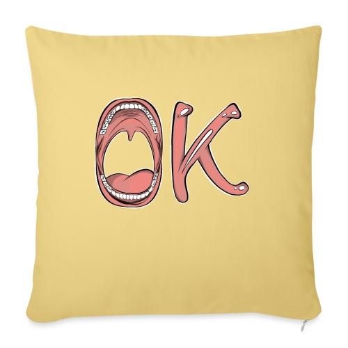 OK - Coussin et housse de 45 x 45 cm