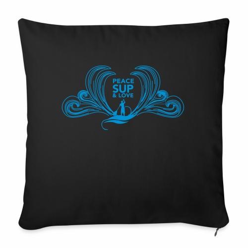 Peace SUP and love 8 - Coussin et housse de 45 x 45 cm