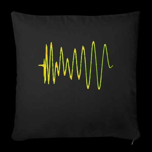 Boom 909 Drum Wave - Sofa pillow with filling 45cm x 45cm
