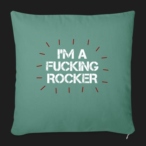 I'M A FUCKING ROCKER - Cuscino da divano 44 x 44 cm con riempimento