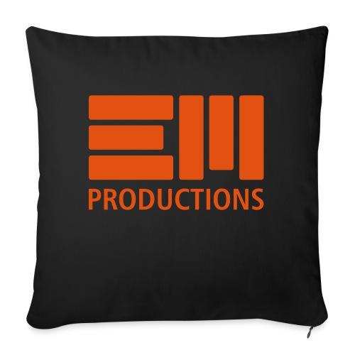 EM Productions Logo 2016 - Sofakissen mit Füllung 44 x 44 cm
