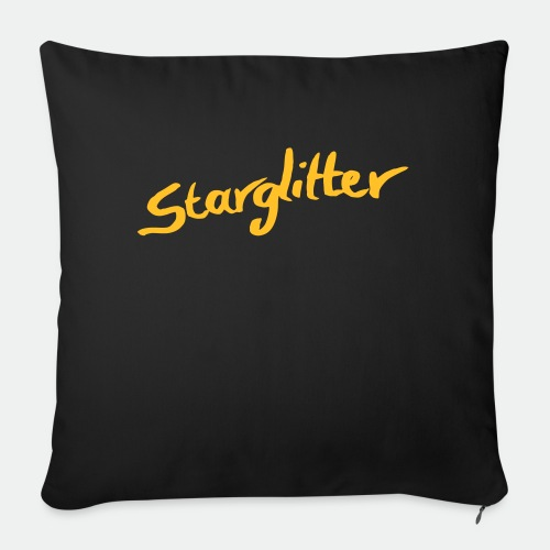 Starglitter - Lettering - Sofa pillow with filling 45cm x 45cm
