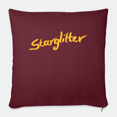 Starglitter - Lettering - Sofa pillow with filling 45cm x 45cm