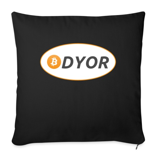 DYOR - option 2 - Sofa pillow with filling 45cm x 45cm