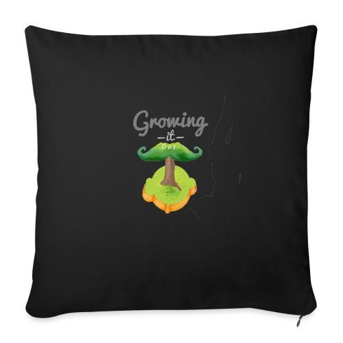 Moustache tree - Sofa pillow with filling 45cm x 45cm