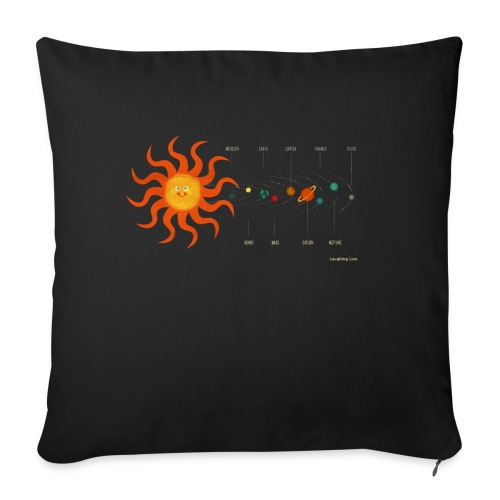 Solar System - Sofa pillow with filling 45cm x 45cm