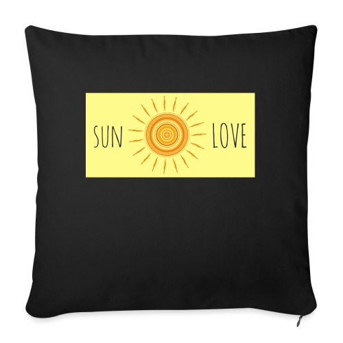 Sun Love - Sofa pillow with filling 45cm x 45cm