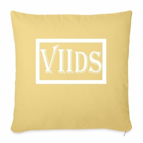 Viids logo - Poduszka na kanapę z wkładem 44 x 44 cm