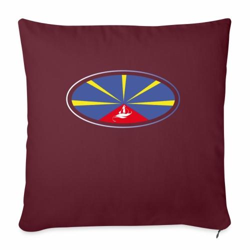Paddle Reunion Flag - Coussin et housse de 45 x 45 cm