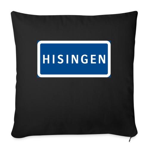 Vägskylt Hisingen - Soffkudde med stoppning 44 x 44 cm