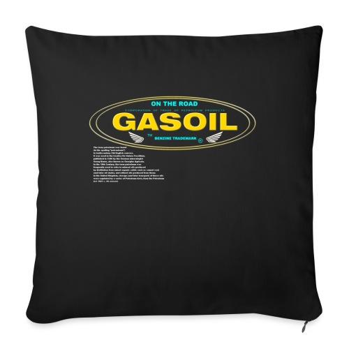 GASOIL - Coussin et housse de 45 x 45 cm
