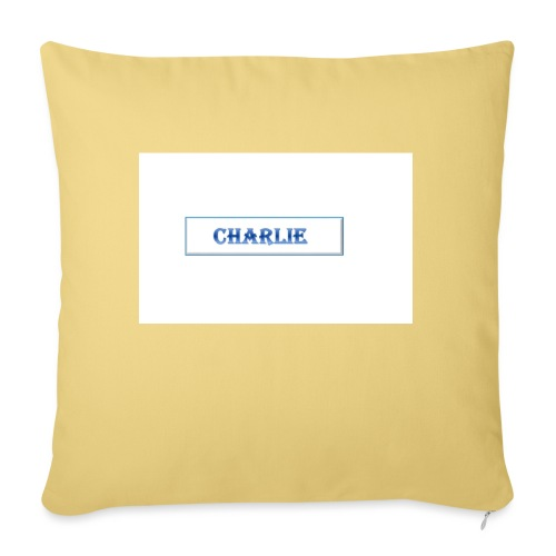 Charlie - Sofa pillow with filling 45cm x 45cm