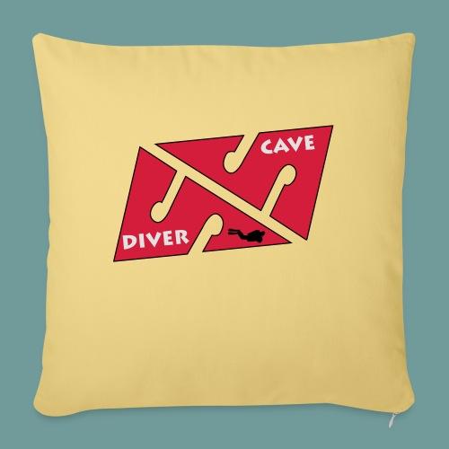 cave_diver_01 - Coussin et housse de 45 x 45 cm