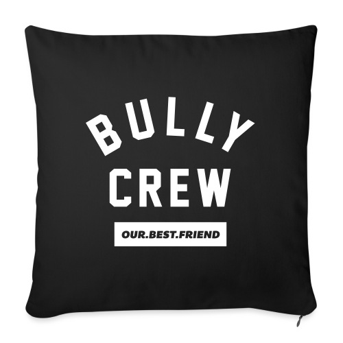 Bully Crew Letters - Sofakissen mit Füllung 44 x 44 cm
