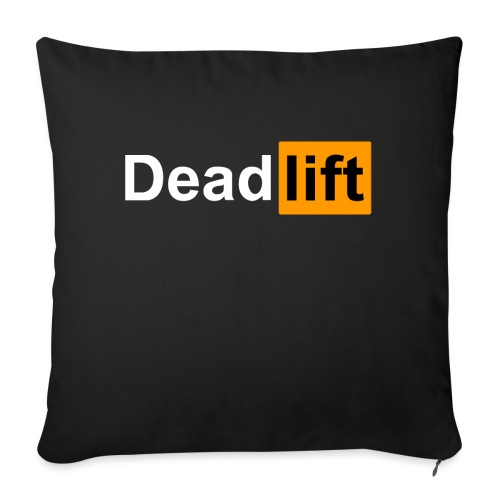 DeadLift X - Coussin et housse de 45 x 45 cm