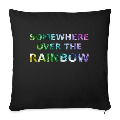 Somewhere over the... - Cuscino da divano 44 x 44 cm con riempimento