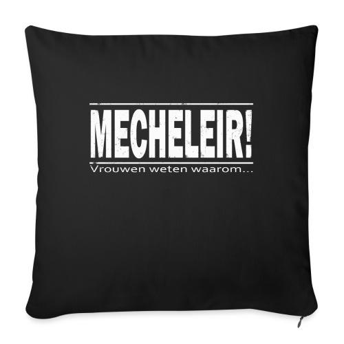 Mecheleir vrouwen - Bankkussen met vulling 44 x 44 cm