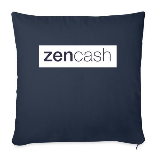 ZenCash CMYK_Horiz - Full - Sofa pillow with filling 45cm x 45cm
