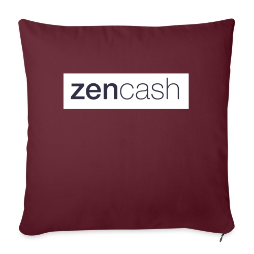 ZenCash CMYK_Horiz - Full - Sofa pillow with filling 45cm x 45cm