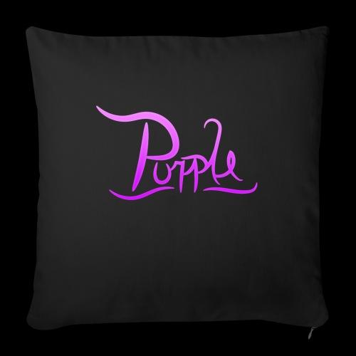 PurpleDesigns - Sofa pillow with filling 45cm x 45cm