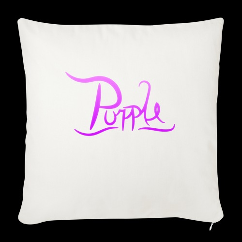 PurpleDesigns - Sofa pillow with filling 45cm x 45cm