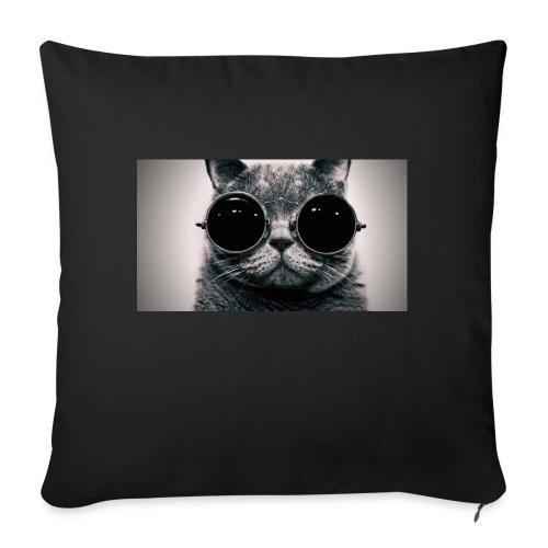 gatito - Cojín de sofá con relleno 44 x 44 cm