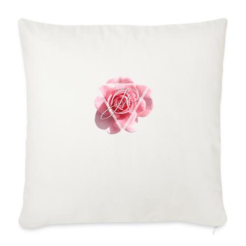 Rose Logo - Sofa pillow with filling 45cm x 45cm