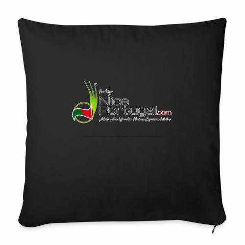 NicePortugal.com Logo - Cuscino da divano 44 x 44 cm con riempimento