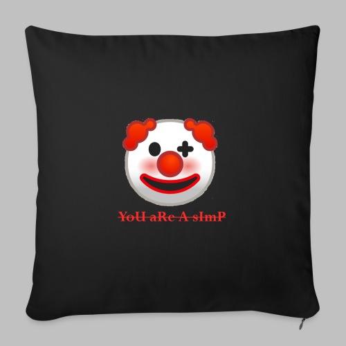 Clown Emoji - Bankkussen met vulling 44 x 44 cm