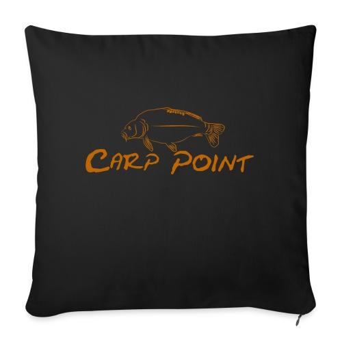 Carp-Point-orange-big - Sofakissen mit Füllung 44 x 44 cm