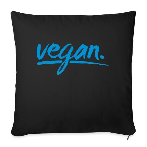 vegan - simply vegan ! - Sofakissen mit Füllung 44 x 44 cm