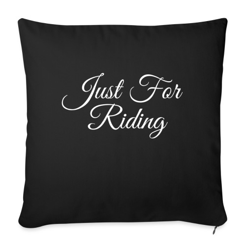 Just for riding - Coussin et housse de 45 x 45 cm