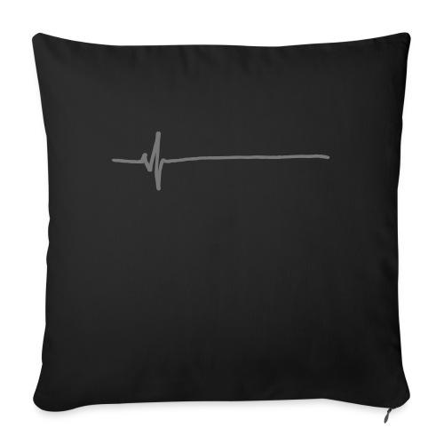 Flatline - Sofa pillow with filling 45cm x 45cm