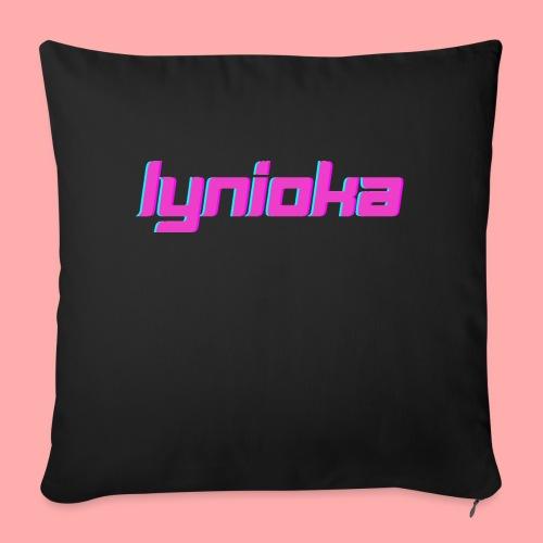 Lynioka Logo 2 - Coussin et housse de 45 x 45 cm