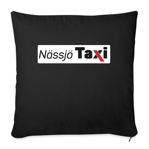 Nässjö taxi tryck - Soffkudde med stoppning 44 x 44 cm