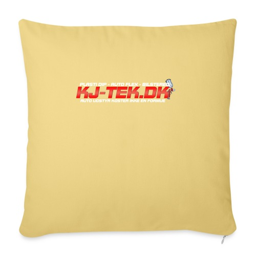 shirtlogo png - Sofapude med fyld 44 x 44 cm
