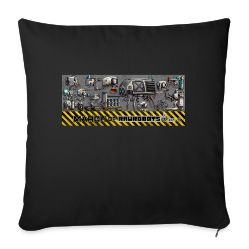 #MarchOfRobots ! LineUp Nr 1 - Sofapude med fyld 44 x 44 cm