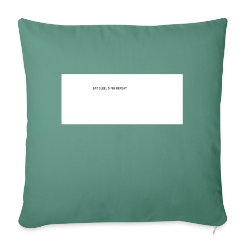 eat sleep sing - Sofa pillow with filling 45cm x 45cm