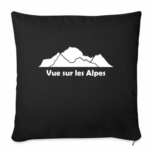Vue sur les Alpes - Coussin et housse de 45 x 45 cm