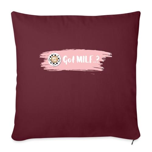 Got MILF Milfcafe Shirt Mama Muttertag - Sofakissen mit Füllung 44 x 44 cm