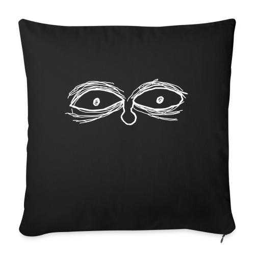 Eyes - Cojín de sofá con relleno 44 x 44 cm