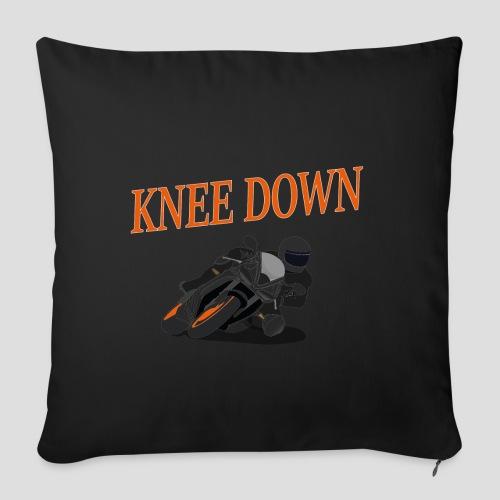 Knee Down - Motorrad | Biker - Sofakissen mit Füllung 44 x 44 cm